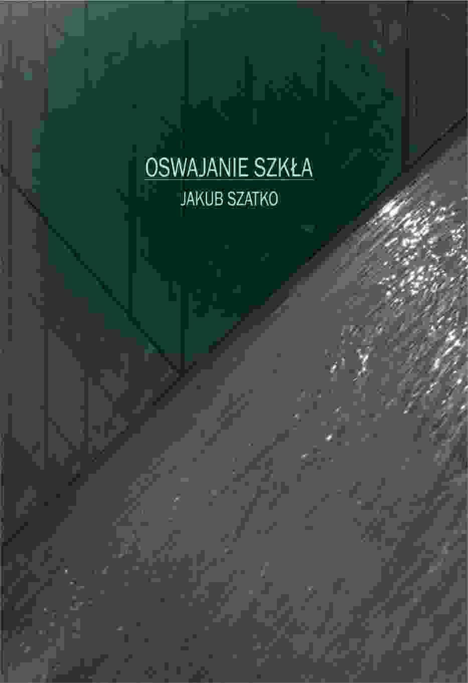 """""""Oswajanie szkła"""" - korporacja, kryzys tożsamości i mroczna historia z intrygą na finał"""