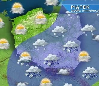 Pogoda. Piątek ze śniegiem, ale i przejaśnieniami w całym kraju. Weekend będzie pogodny