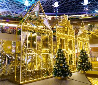 Złote Tarasy Święta 2018. Jedna z najpiękniejszych świątecznych instalacji [ZDJĘCIA]