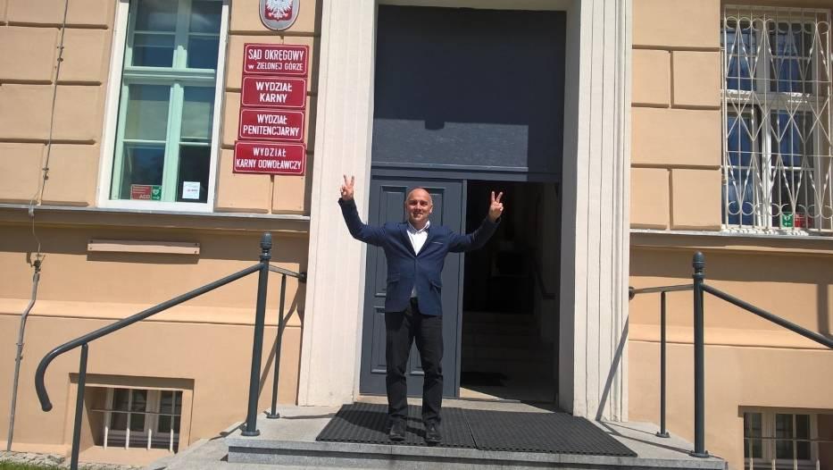 W czwartek po ogłoszeniu wyroku zielonogórskiego sądu Maciej Boryna odetchnął z ulgą