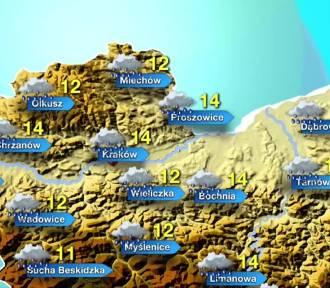 Ostrzeżenie przed silnym deszczem w całej Małopolsce