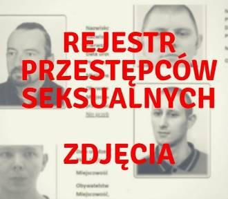 REJESTR przestępców seksualnych z Łodzi i województwa łódzkiego ZDJĘCIA