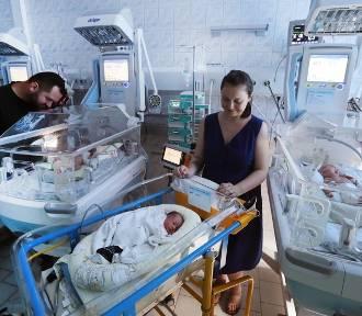 Pierwszy taki przypadek na Pomorzanach. Aż dwa porody trojaczków