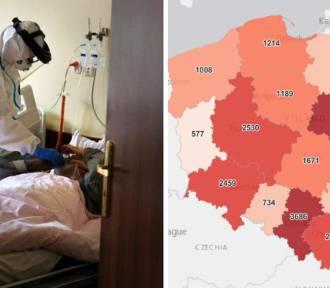 Koronawirus. W Śląskiem wciąż najgorsza sytuacja! Dużo nowych zakażeń i zgonów