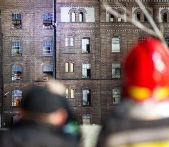 Mężczyzna groził, że skoczy z dachu na terenie leszczyńskich młynów