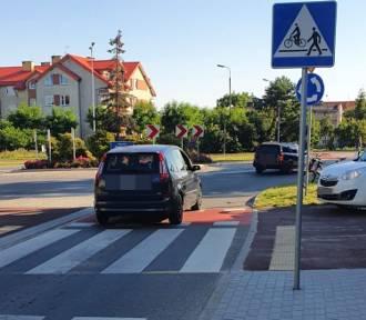 Potrącenie rowerzysty w Kwidzynie