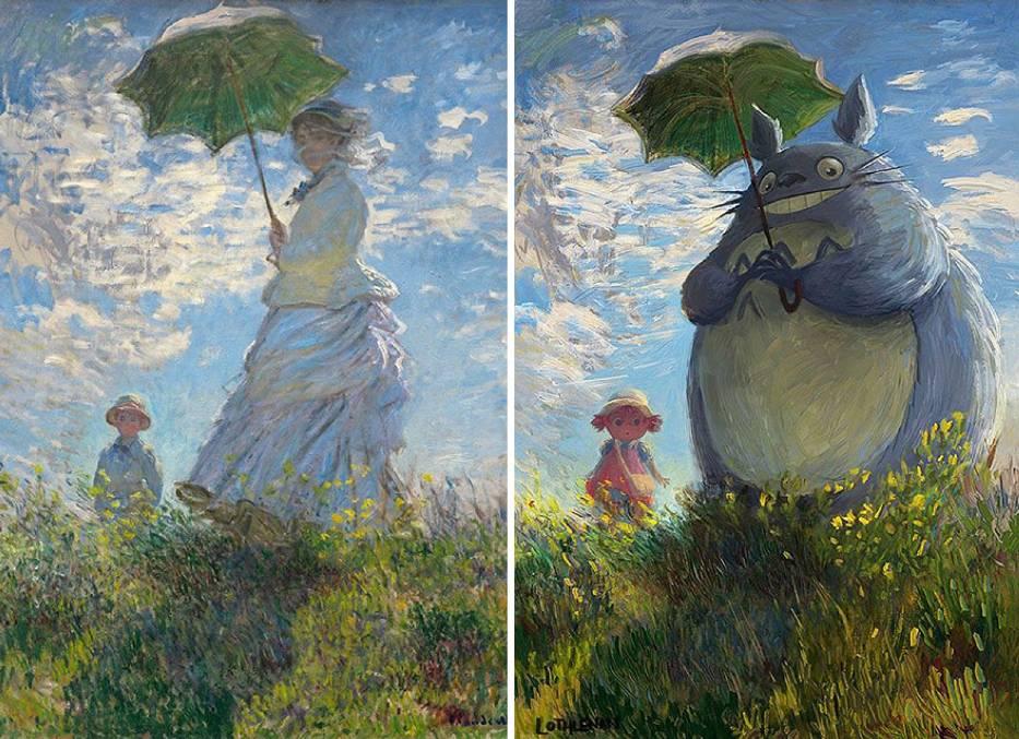 """Internauta pokazał jak """"ulepszyć"""" klasyczne obrazy. Efekt jest komiczny!"""