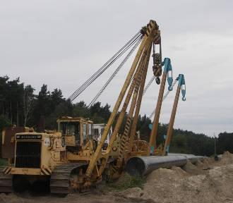 Budowa gazociągu postępuje [FOTO]