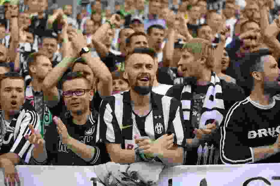 Mecz Lechia-Juventus- zdjęcia kibiców