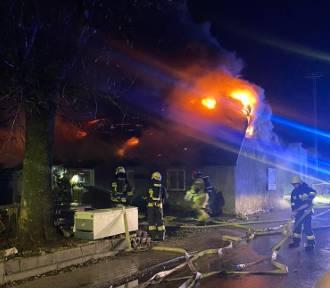 Tragedia w Mostach: w wyniku pożaru jedna osoba straciła życie