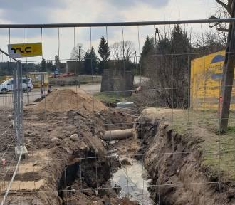 Rozpoczęła się budowa drogi Lewice - Krzyżkówko [ZDJĘCIA]