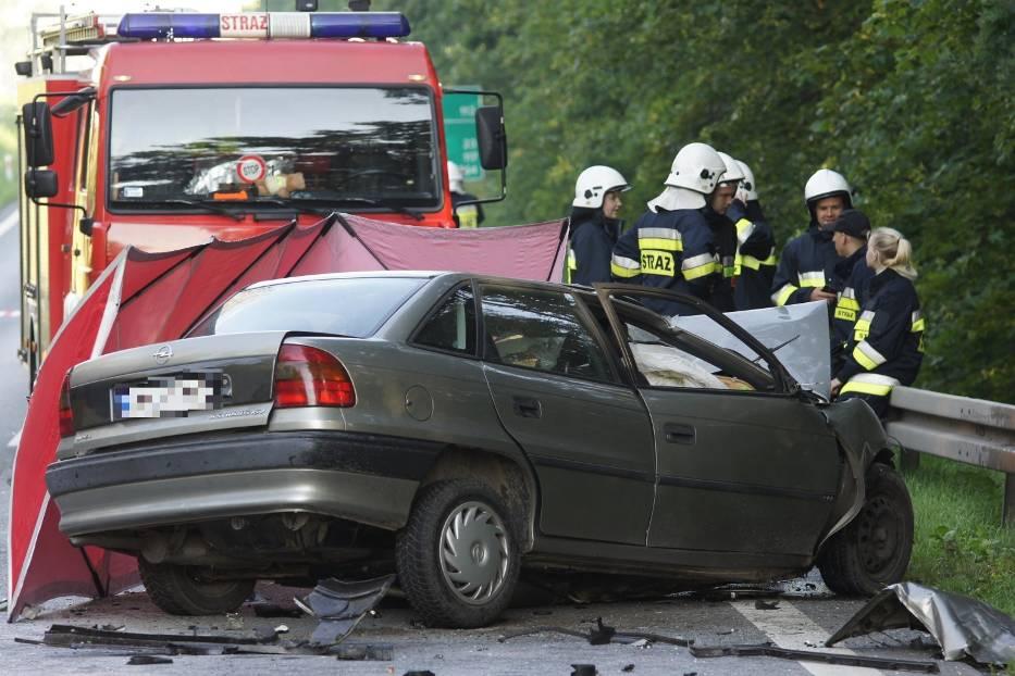 Śmiertelny wypadek w Kościelnej Wsi na przedmieściach Kalisza