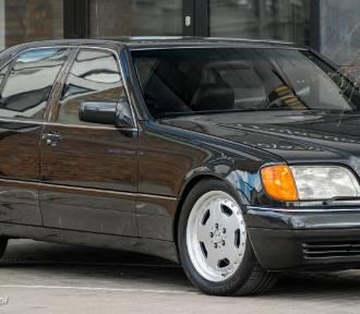 """Gangsterską """"szejsetę"""", czyli Mercedes-Benz Klasy S odpicowano w Wejherowie [ZDJĘCIA]"""