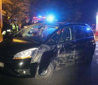 Pijana kobieta sprawczynią wypadku na Strykowskiej w Łodzi