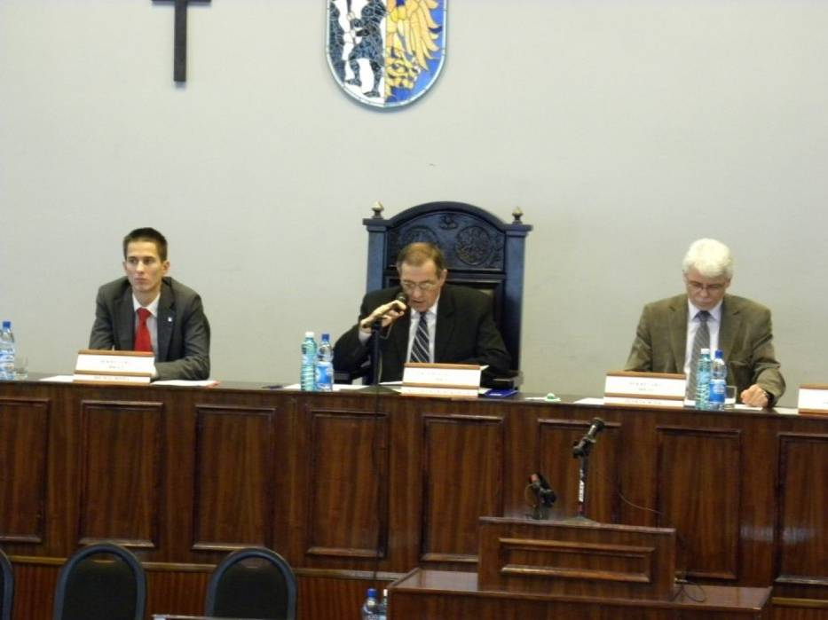 Prezydium sesji