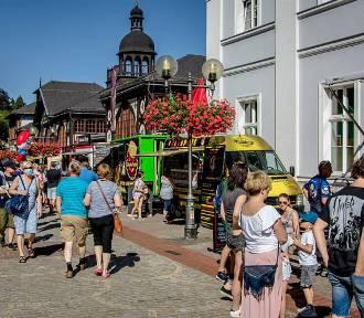 Ogródek Food Trucków, czyli Festiwal Smaków Świata w Szczawnie Zdroju (ZDJĘCIA)