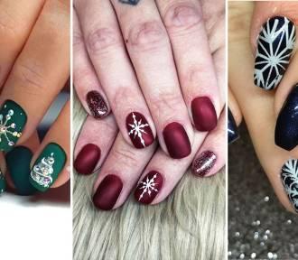 Paznokcie na święta - takie są trendy