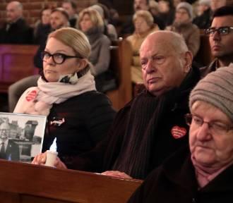 Msza pamięci prezydenta Gdańska Pawła Adamowicza w Bazylice w Grudziądzu [zdjęcia]