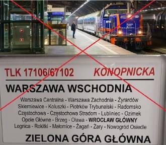 To już koniec pociągu z Żagania do Warszawy! Powód? Małe zainteresowanie pasażerów!