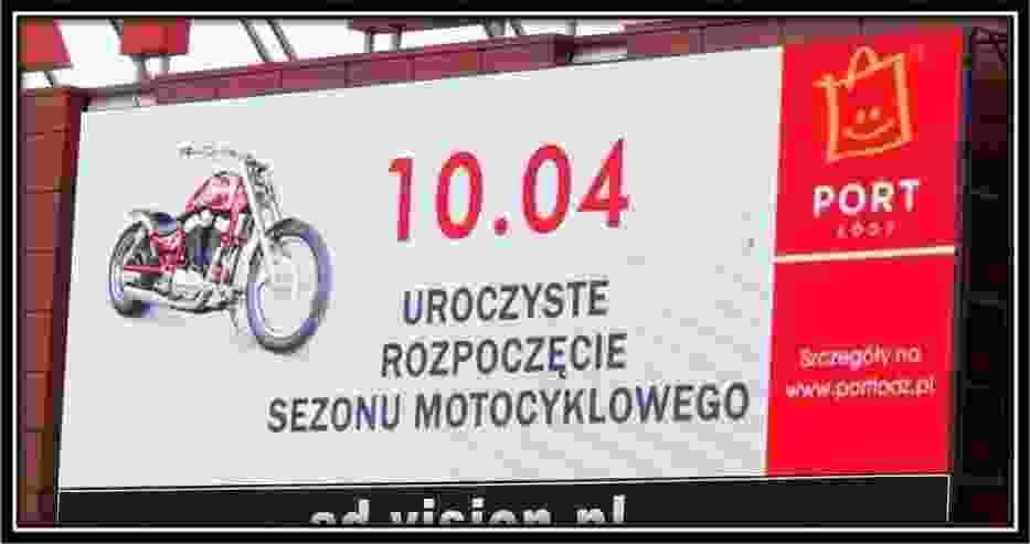 Telebim Portu Łódź
