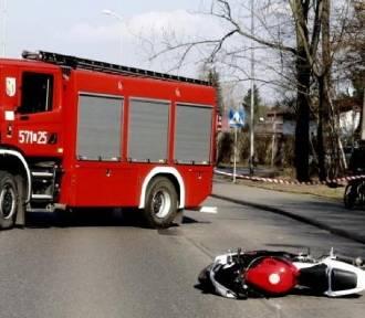 Tragiczny wypadek motocyklisty. Policja poszukuje świadków