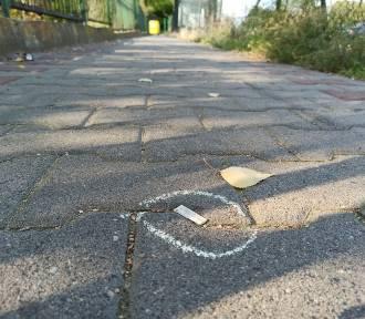 Kreda wstydu na ulicach Poznania. Co to za akcja?