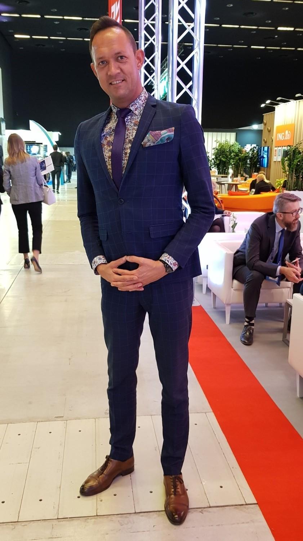 Najlepiej ubrani mężczyźni na Europejskim Kongresie Gospodarczym 2019Krzysztof Pieczyński - radny miasta Katowice