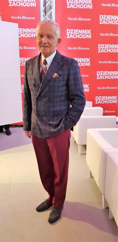 Najlepiej ubrani mężczyźni na Europejskim Kongresie Gospodarczym 2019Andrzej Żylak - konsul honorowy Chorwacji w Polsce, prezes Izby Przemysłowo-Handlowej Rybnickiego Okręgu Przemysłowego, modowy influencer - konto @pastelowaelegancja na Instagramie