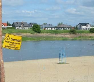 Jednak nie całe wakacje stracone? Skierniewicki zalew może być gotowy już w lipcu [ZDJĘCIA]