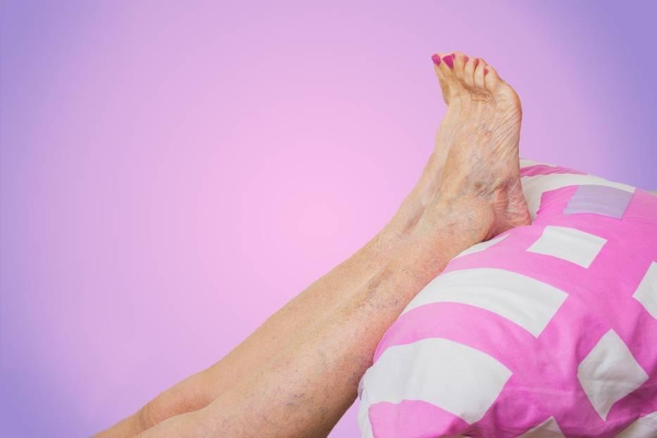 Obrzęk i uczucie mrowienia nóg
