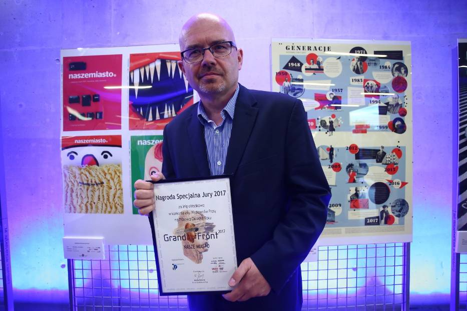 Grand Front 2017 rozdane. Nagrody dla Naszemiasto.pl, Polska The Times i Magnesu