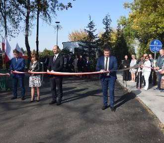 Otwarcie nowej ul. Wybickiego i drogi do Nowego Borówka [FOTO]