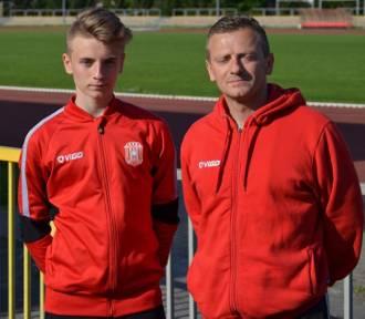 Ojciec i syn w jednej drużynie. Sportowa rodzina Łuczyków