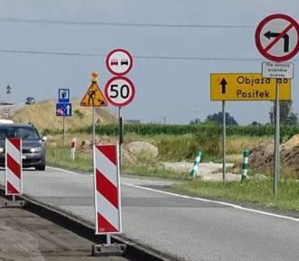 Będzie lepszy dojazd do autostrady. Trwa przebudowa drogi krajowej 45 przy węźle A4