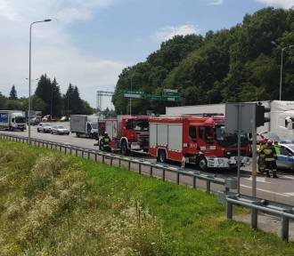 Dwie osoby ranne w wypadku na ul. Krakowskiej w Przemyślu