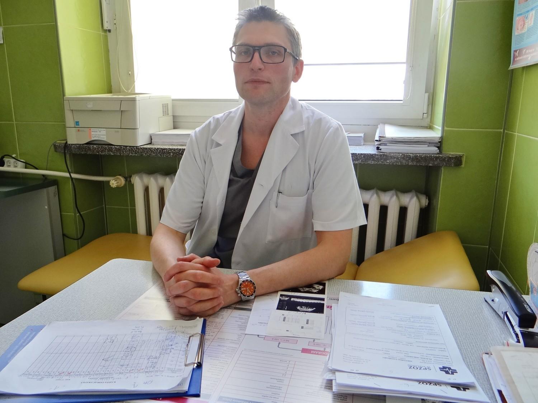Dr. Wojciech Ordon, zastępca dyrektora szpitala do spraw medycznych