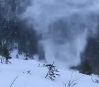 Niezwykłe zjawisko meteorologiczne w Tatrach