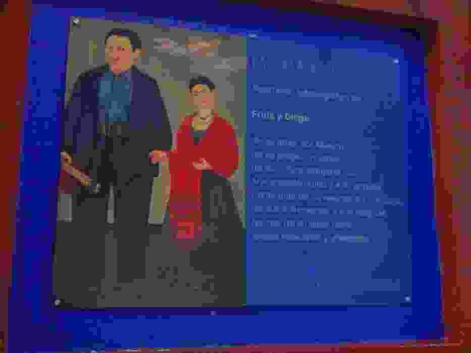 Frida Kahlo i Diego  Rivera to para najbardziej znanych  meksykańskich artystów malarzy