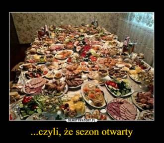 """Sezon na: """"nie jedz tego, to na święta"""" uważamy za otwarty. Zobacz memy!"""