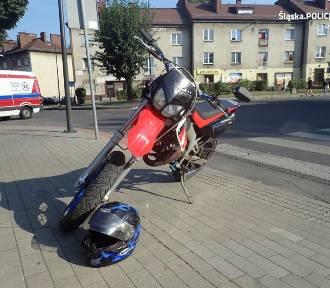 Wypadek 16-letniego motorowerzysty w Boguszowicach
