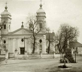 Kościoły z powiatu zawierciańskiego na starych zdjęciach