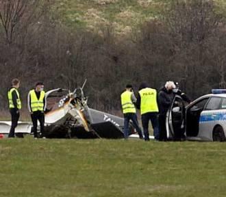 Na lotnisku w Gliwicach rozbił się prywatny samolot