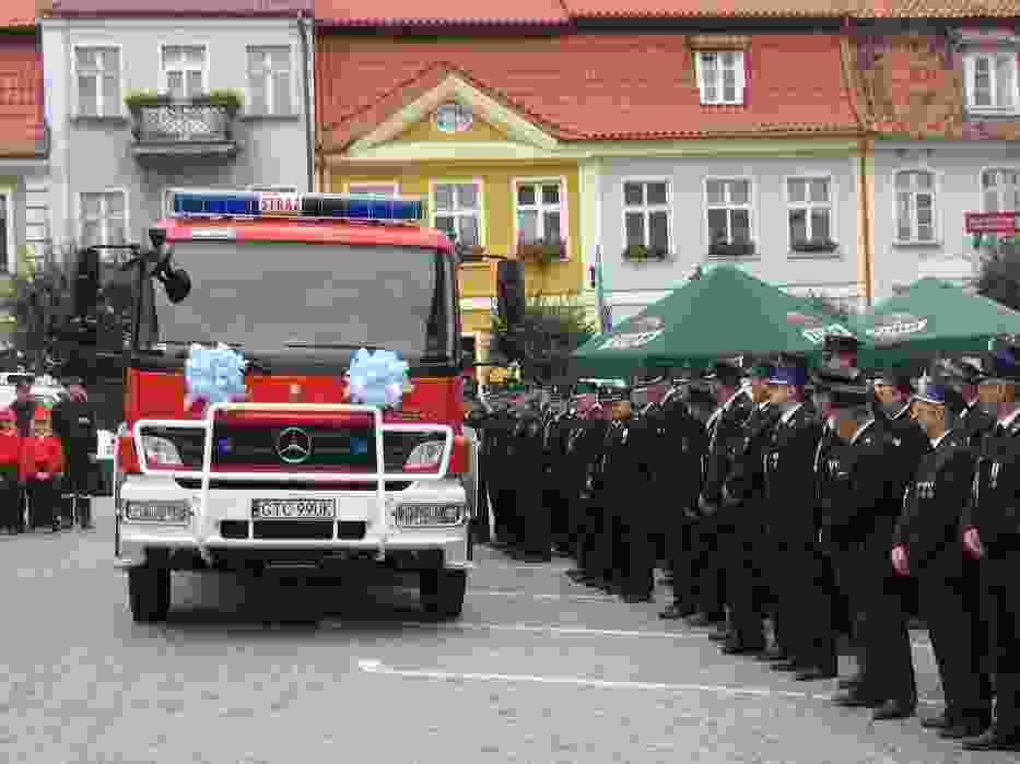 Jednostka w Morzeszczynie ma otrzymać taki wóz jak strażacy z Gniewa