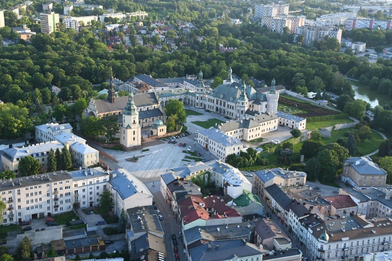 Balonem nad Kielcami. Oszałamiające widoki! (DUŻO ZDJĘĆ)