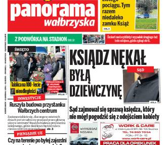 Panorama Wałbrzyska. Najnowszy numer już w sprzedaży. Polecamy!