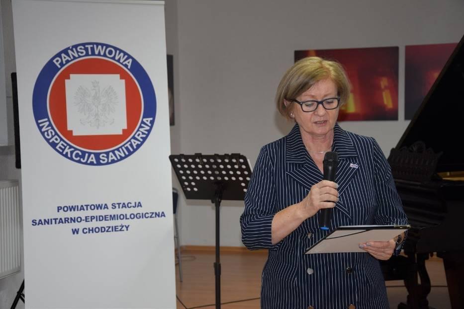 Bogusława Kazecka - Państwowy Powiatowy Inspektor Sanitarny w Chodzieży
