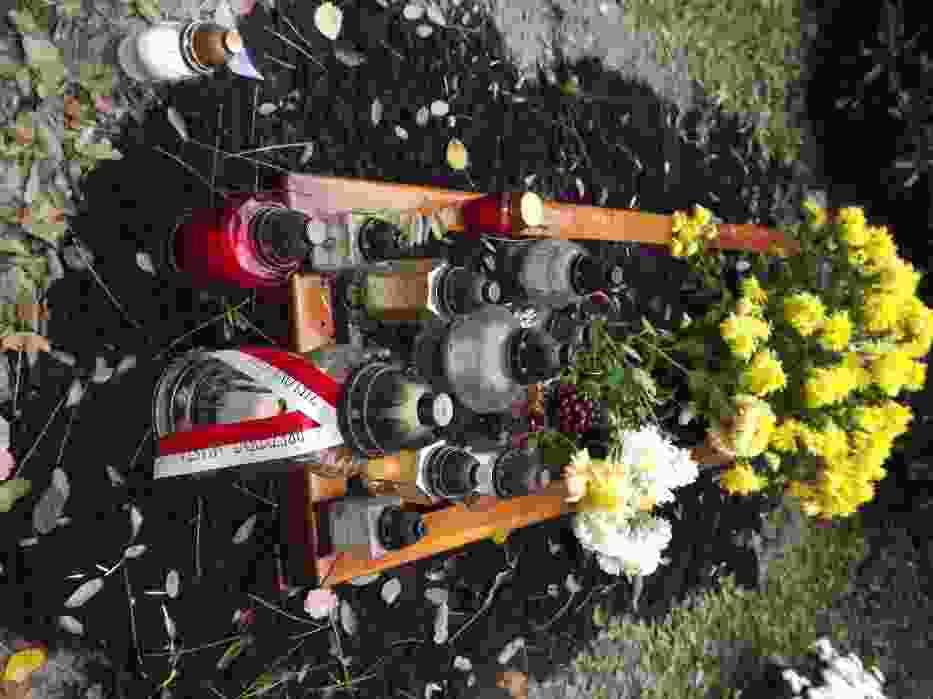 Groby dnia 1 listopada 2012