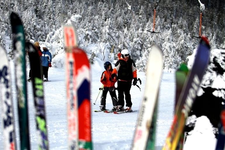Wyciąg i stok narciarski Gromadzyń