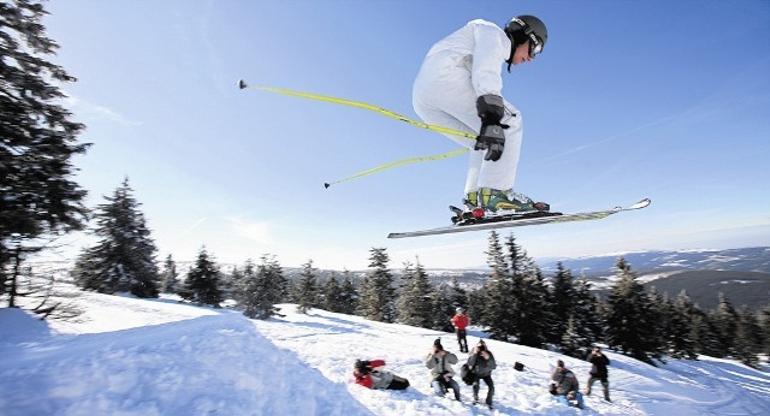 Wyciąg i stok narciarski Mały Król w Ustrzykach Dolnych