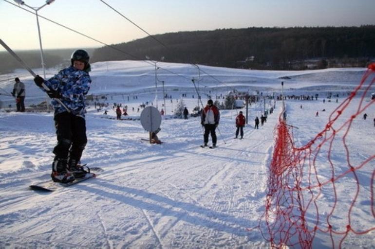 Wyciąg i stok narciarski w Babicach